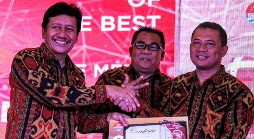 Tribunjateng.com Raih Penghargaan 2nd Best of the Best Media Online se Jawa Bali