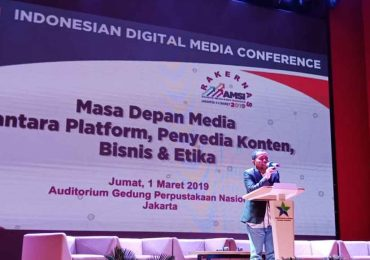 Pembukaan Konferensi Media Digital Indonesia 2019
