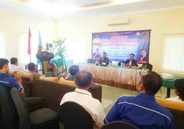 Alpandi Terpilih Aklamasi Pimpin PWI Lampung Selatan