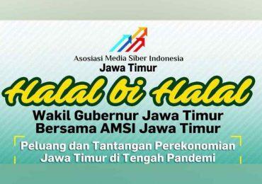 Kali ini AMSI Halal Bihalal Online dengan Wakil Gubernur Jatim