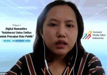 Webinar #1 Digital Humanities 'Kolaborasi Lintas Entitas untuk Penyajian Data Publik'