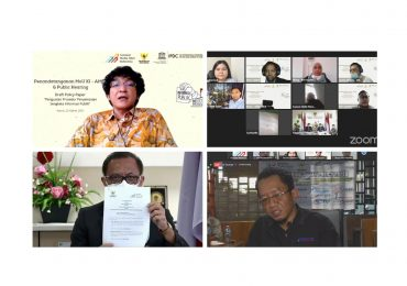 Komisi Informasi Pusat dan Asosiasi Media Siber Indonesia Tandatangani Nota Kesepahaman Peran Media Siber Mendorong Keterbukaan Informasi Publik