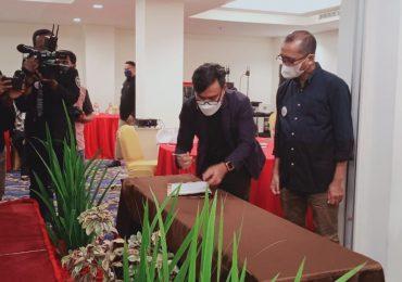 Djufri Rachim – Nuryadi Pimpin AMSI Sultra 2020-2023